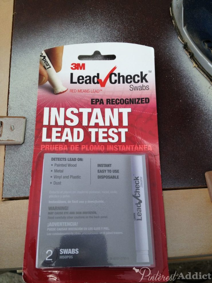 3M Lead Check Swabs - Checking Vintage Furniture for Lead Paint