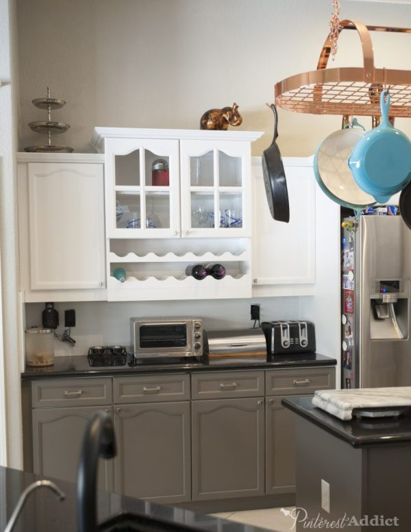 kitchen cabinet repainted