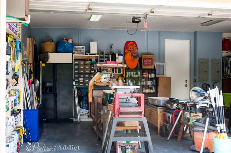 Full shot of Garage After - Good Housekeeping Spring Cleaning Challenge - Garage Makeover