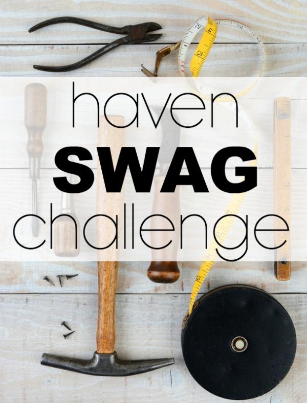 Haven Swag Challenge 2016 - DIY art