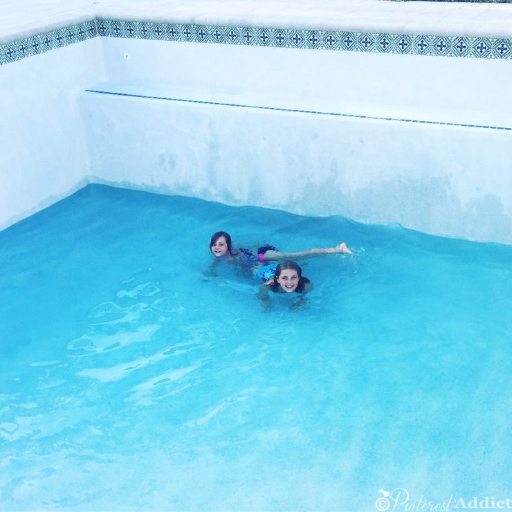 What to expect when building a pool - the fill up