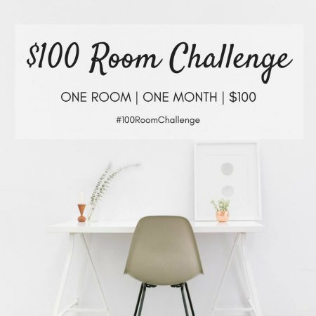 $100 Room Challenge - Laundry Room Makeover