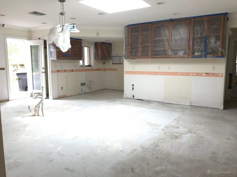 ORC- Kitchen progress - no cabinets, no floors