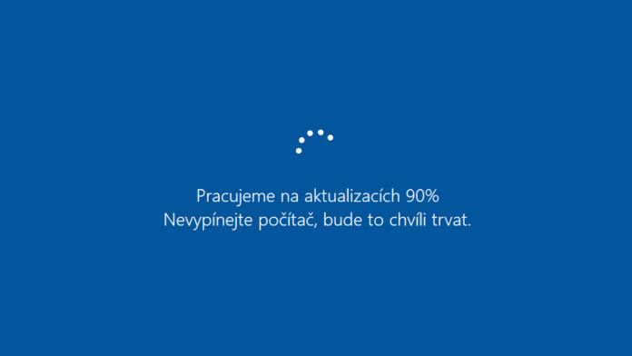 aktualizace windows vám nadlouho zabrání v další práci