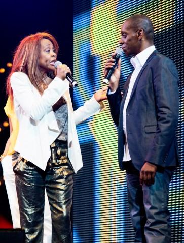 Claudy Siar et Clémence Bringtown