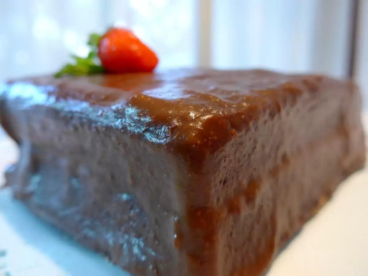 """É possivelmente o melhor bolo de """"chocolate"""" sem açúcar, que vai provar ;)"""