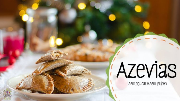 Azevias Natal árvore natal consoada
