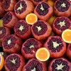 roma pomegrenate laranja orange berry detox