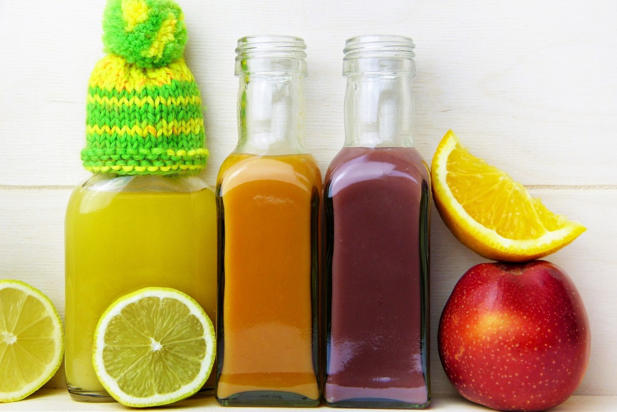 sumo detox frio juice cold lemon orange apple maca