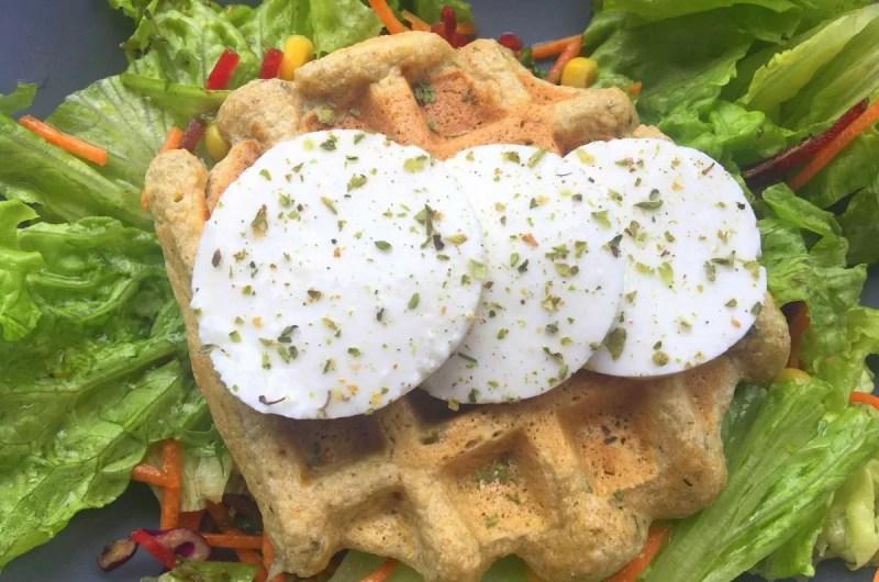 Waffles mais simples do mundo