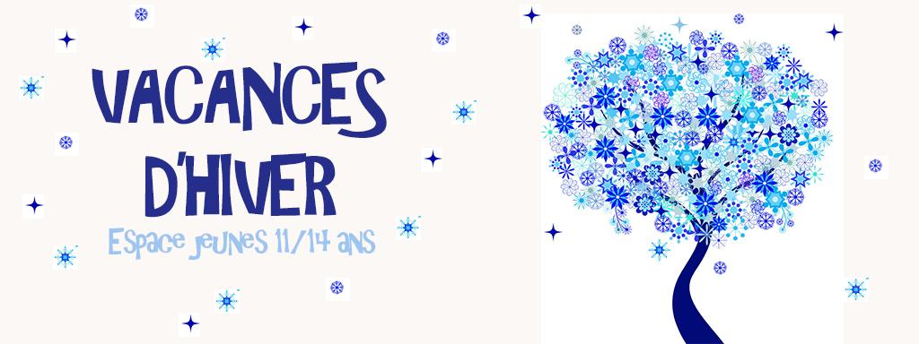 Espace jeunes : vacances d'hiver