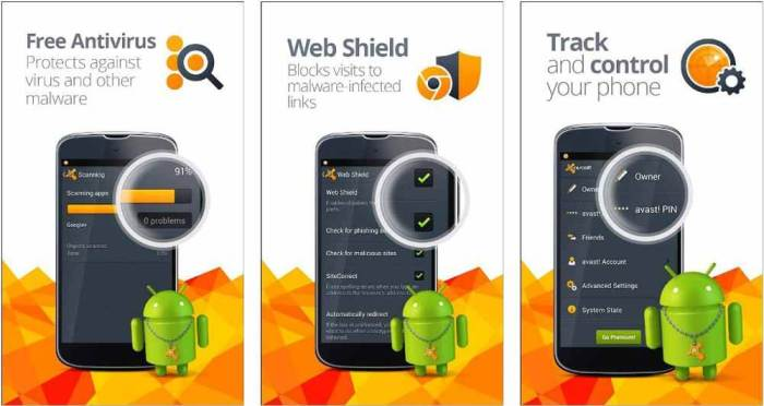 free antivirus android mobile download