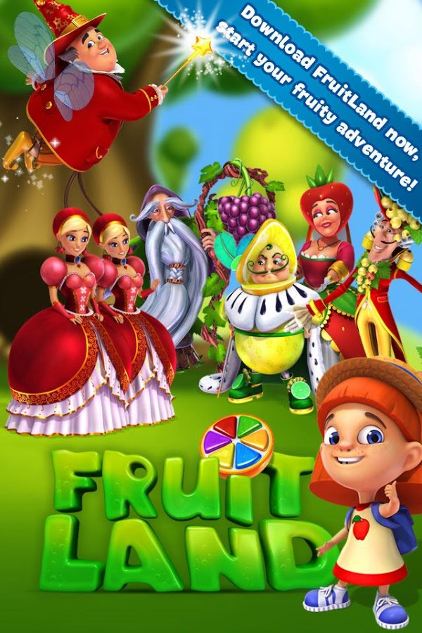 Fruit Land - match3 adventure 5