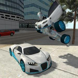 Flying Car Robot Simulator