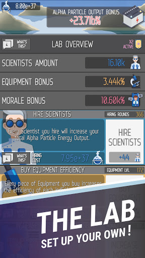 Idle Space Energy Particle Simulator - ISEPS