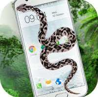 Snake On Screen Hissing Joke APK