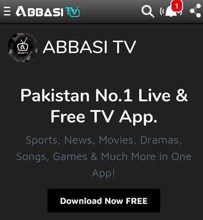 Abbasi Free Live TV