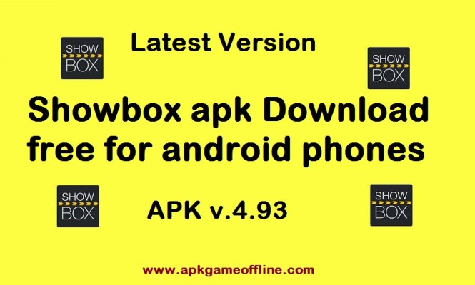 Showbox apk Download free for android phones