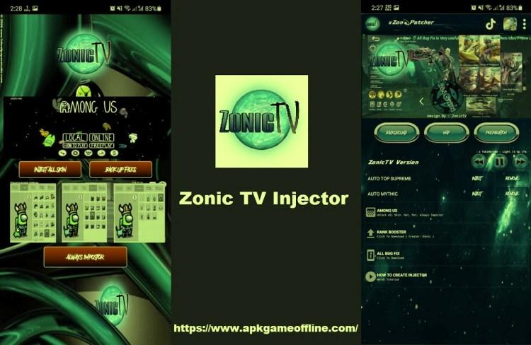 Zonic TV Injector apk