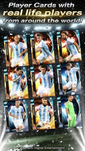 Download game  PES CARD COLLECTION