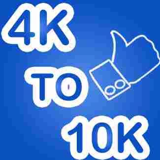 4K to 10K Liker