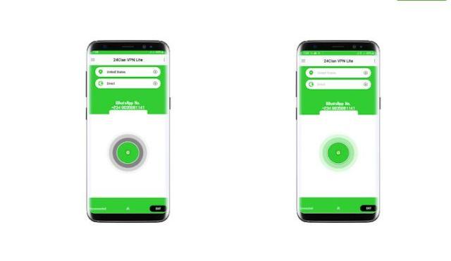 24Clan Lite VPN app Free Browsing On Glo