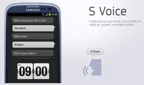 تطبيق S Voice لجميع الاجهزة