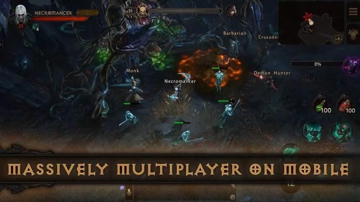 تحميل لعبة Diablo Immortals