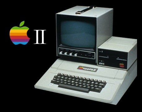 Apple II comparison shot