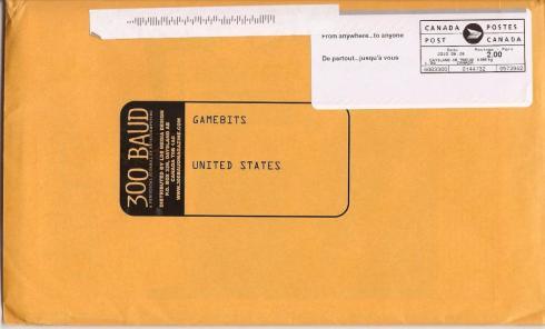 300 Baud envelope