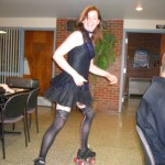 Roller Jeri at KansasFest 2006.