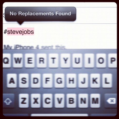 No replacements found