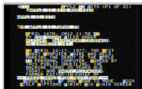 Apple II Lynx