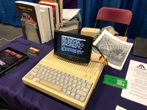 Apple IIc at BostonFIG