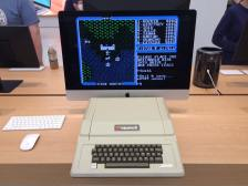 Apple II playing Ultima