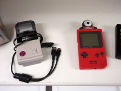A Game Boy printer and camera!