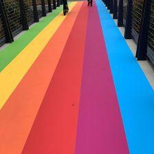 Apple Park Rainbow Floor