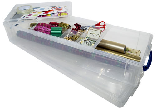 Gift Wrap Storage Box