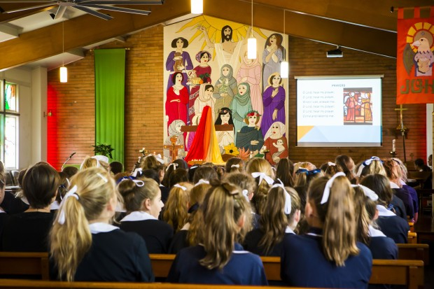 St Margaret's Girls School Prospectus, Sharing Faith in the School Chapel