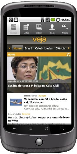 veja-android