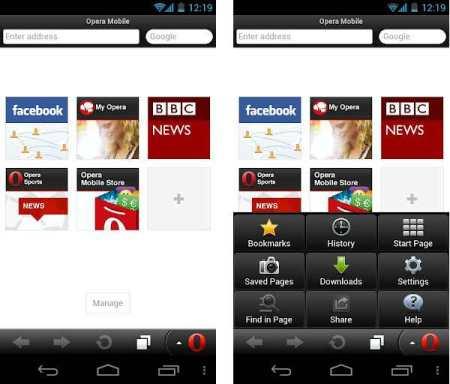 Aplicativos Opera e Opera Mini para Android agora estão mais