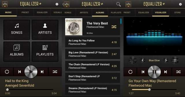 equalizer+ app de musica