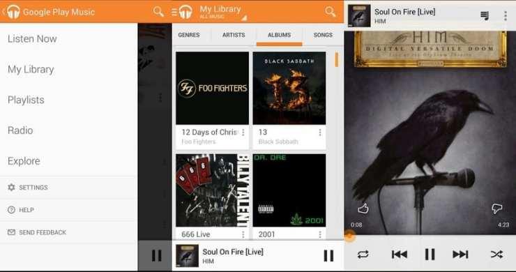 google play music app de musica