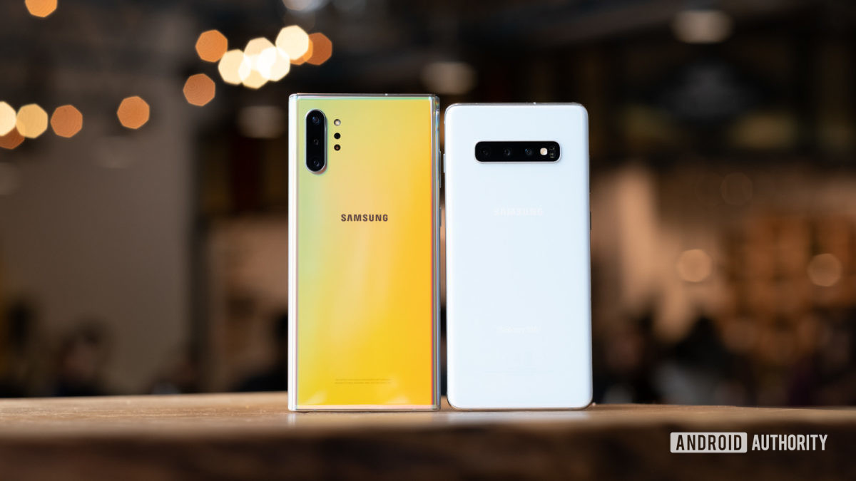 Samsung Galaxy Note 10 Plus vs Samsung Galaxy S10 Plus 2