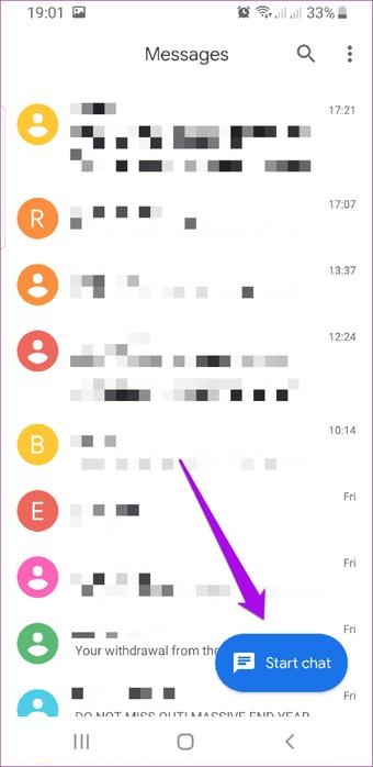 """Chat de início de mensagens do Rcs do Android """"width ="""" 682 """"height ="""" 1400 """"tamanhos de dados ="""" tamanhos automáticos """"="""" (largura mínima: 976px) 700px, (largura mínima: 448px) 75vw, 90vw """"srcset ="""" https : //cdn.guidingtech.com/imager/media/assets/248638/android-rcs-messaging-start-chat_4d470f76dc99e18ad75087b1b8410ea9.png? 1576158996 682w, https://cdn.guidingtech.com/imager/media/assets/248638/ android-rcs-messaging-start-chat_40dd5eab97016030a3870d712fd9ef0f.png? 1576158996 500w, https://cdn.guidingtech.com/imager/media/assets/248638/android-rcs-messaging-start-chat_7c4a12eb74552815159151151"""