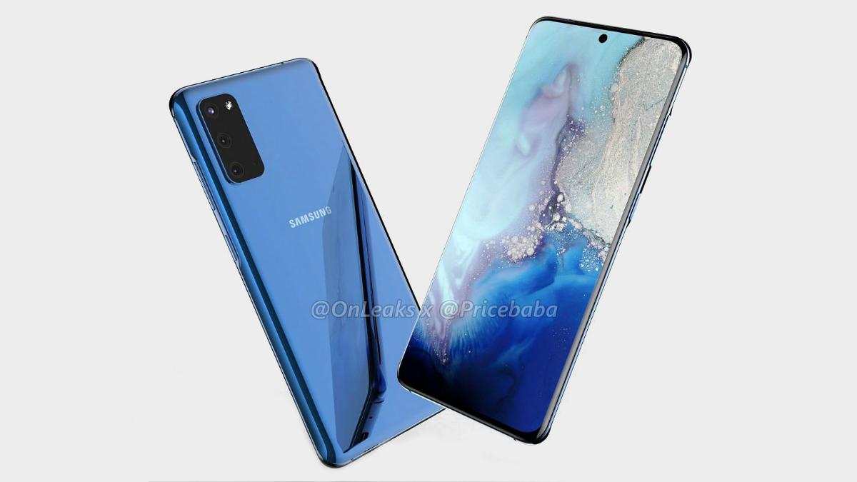 Samsung Galaxy S11e renderiza 3