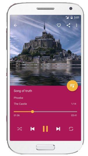 leitor de música pulsar para android
