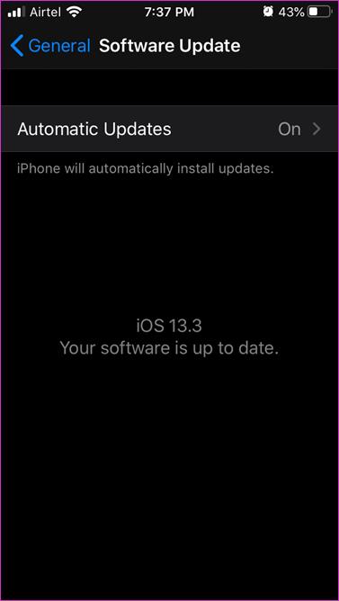 Corrigir App Store aguardando download Erro 4