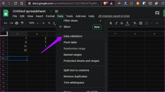 """Dicas e truques do Planilhas Google 18 """"width ="""" 851 """"height ="""" 477 """"data-size ="""" auto """"size ="""" (largura mínima: 976px) 700px, (largura mínima: 448px) 75vw, 90vw """"srcset ="""" https://www.aplicativosandroid.com/wp-content/uploads/2019/12/1577087371_419_As-9-melhores-dicas-e-truques-do-Google-Sheets-para.png 851w, https://cdn.guidingtech.com/imager /media/assets/2019/12/249265/Google-Sheets-Tips-and-Tricks-18_935adec67b324b146ff212ec4c69054f.png?1576948388 700w, https://cdn.guidingtech.com/imager/media/assets/2019/12/249265/ Dicas-e-truques-do-Google-Sheets-18_40dd5eab97016030a3870d712fd9ef0f.png? 1576948388 500w, https://cdn.guidingtech.com/imager/media/assets/2019/12/249265/Google-Sheets-Tips-and-Tricks-18c7a4a12a7b4a12a .png? 1576948389 340w"""