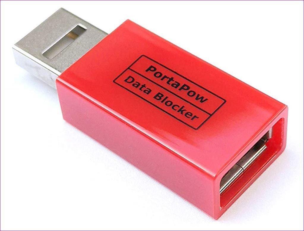 Bloqueador de dados USB Precisa Portapow